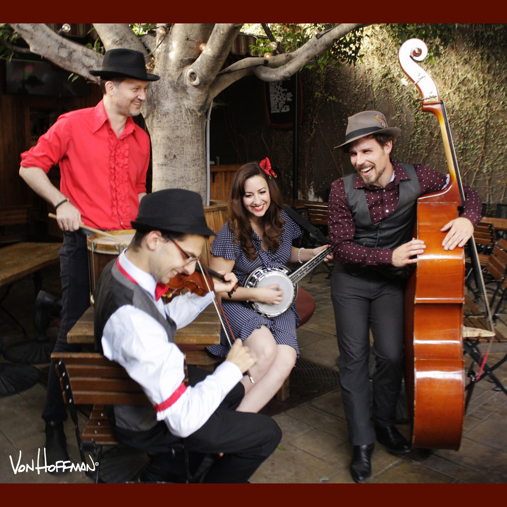Kristen Lynn & The Foxgloves - Kristen Lynn is a Los Angeles based, jazz-folk singer-songwriter and Actor from Philadelphia. Stephen Spies on Fiddle, Clayton Hamburg on Upright Bass, Syd Everatt on Lead Guitar and Johnny Sneed on Drums.