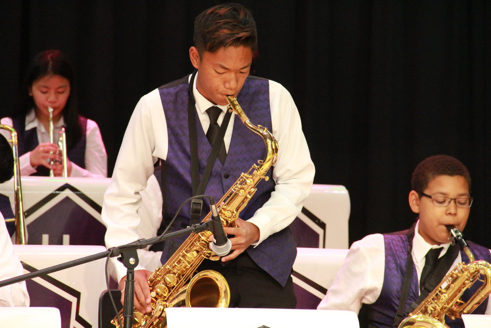 Herbert Hoover Jazz - Herbert Hoover Jazz (HHJ) works on acquiring the skills and knowledge required to perform outstanding jazz literature.  The award winning HHJ has participated in festivals, community events, and many concerts.