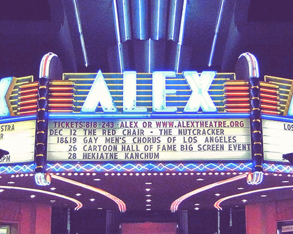 Glendale Arts manages the historic Alex Theatre in Downtown Glendale