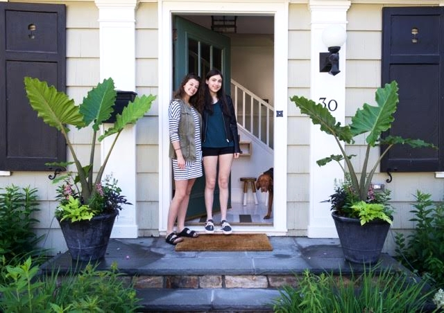 Gwen and Hailey- art, architecture, interior design, home, interns