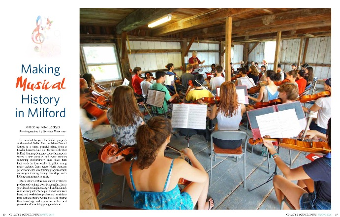Music at Port Milford County and Quinte Press