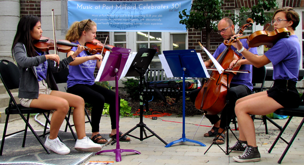 Music at Port Milford County Live Press