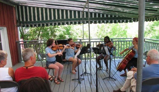 Music at Port Milford County Weekly News Press 2015