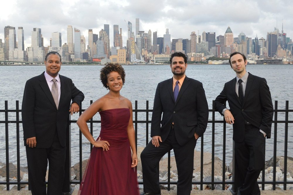 "New York-based HARLEM QUARTET, currently serving a three-year residency at London's Royal College of Music, has been praised for its ""panache"" by  The New York Times  and hailed in the  Cincinnati Enquirer  for ""bringing a new attitude to classical music, one that is fresh, bracing and intelligent."" Critic Julian Haylock, reviewing a NAXOS recording of string quartets by Walter Piston, called Harlem Quartet a ""formidable ensemble whose members play highly demanding scores with infectious vitality, breezy confidence and (most importantly) affectionate warmth."" Since its public debut at Carnegie Hall in 2006, the quartet has thrilled audiences in 47 states as well as in the U.K., France, Belgium, Brazil, Panama, Canada, Venezuela, and South Africa.  n addition to performing a varied menu of string quartet literature across the country and around the world, Harlem Quartet has collaborated with such distinguished artists as violinist Itzhak Perlman; cellist Carter Brey; clarinetist Paquito D'Rivera; pianist Misha Dichter; and jazz legends Chick Corea and Gary Burton, whom they joined for their six-month ""Hot House"" tour that began at Tanglewood in the summer of 2012. Later that year Harlem Quartet made its debut at the Montreal Jazz Festival with another jazz virtuoso, Stanley Clarke. And most recently, the quartet performed with legendary bassist John Patitucci and with the critically acclaimed Shanghai Quartet. On that occasion, at Montclair State University in March 2017, composer William Bolcom remarked that Harlem Quartet can ""perform the classics very well, but few other quartets swing correctly when playing music that requires that, and few other groups can call up so many authentic playing styles from all over the world. They're sifting through our rich culture, bringing musical nuggets from all corners to delight their very wide audience.""  Harlem Quartet's mission is to advance diversity in classical music, engaging young and new audiences through the discovery and presentation of varied repertoire that includes works by minority composers. Passion for this work has made the quartet a leading ensemble in both educational and community engagement performances. In this capacity, the quartet has written several successful grants, including a Cultural Connections Artist-In-Residence grant from James Madison University and a 2016 Guarneri String Quartet grant from Chamber Music America; the latter allowed the quartet to participate in an extended performance and educational residency in Mobile, Alabama that included a close partnership with the Mobile Symphony Orchestra.    harlemquartet.com"