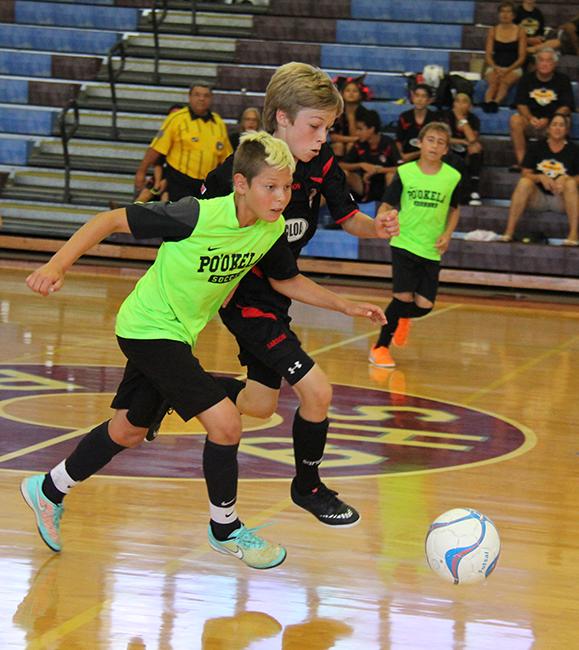 Po'okela SC (Maui) vs.Kalaheo Futsal Club (Kaua'i) | 2015 Hawaii Futsal State Championships | Maui, Hawai'i