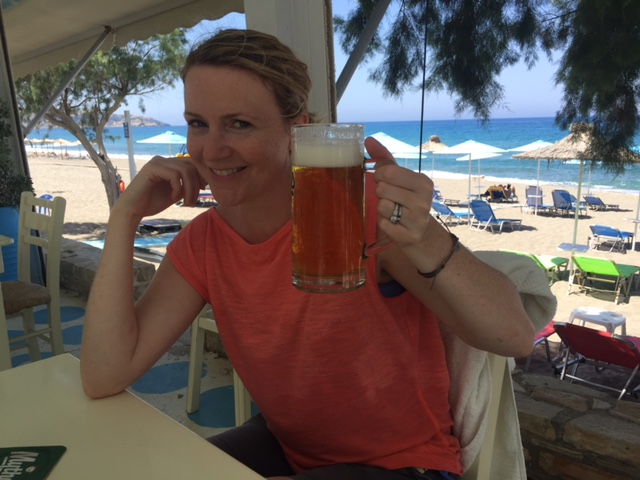 Hot beaches and giant beers.
