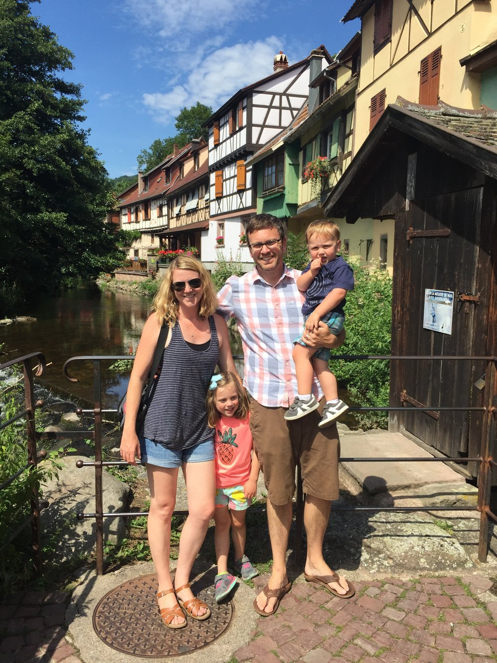 Family portrait, Kaysersberg, France