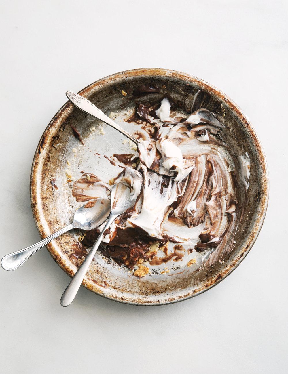 Chocolate Silk Pie Toronto Food photographer