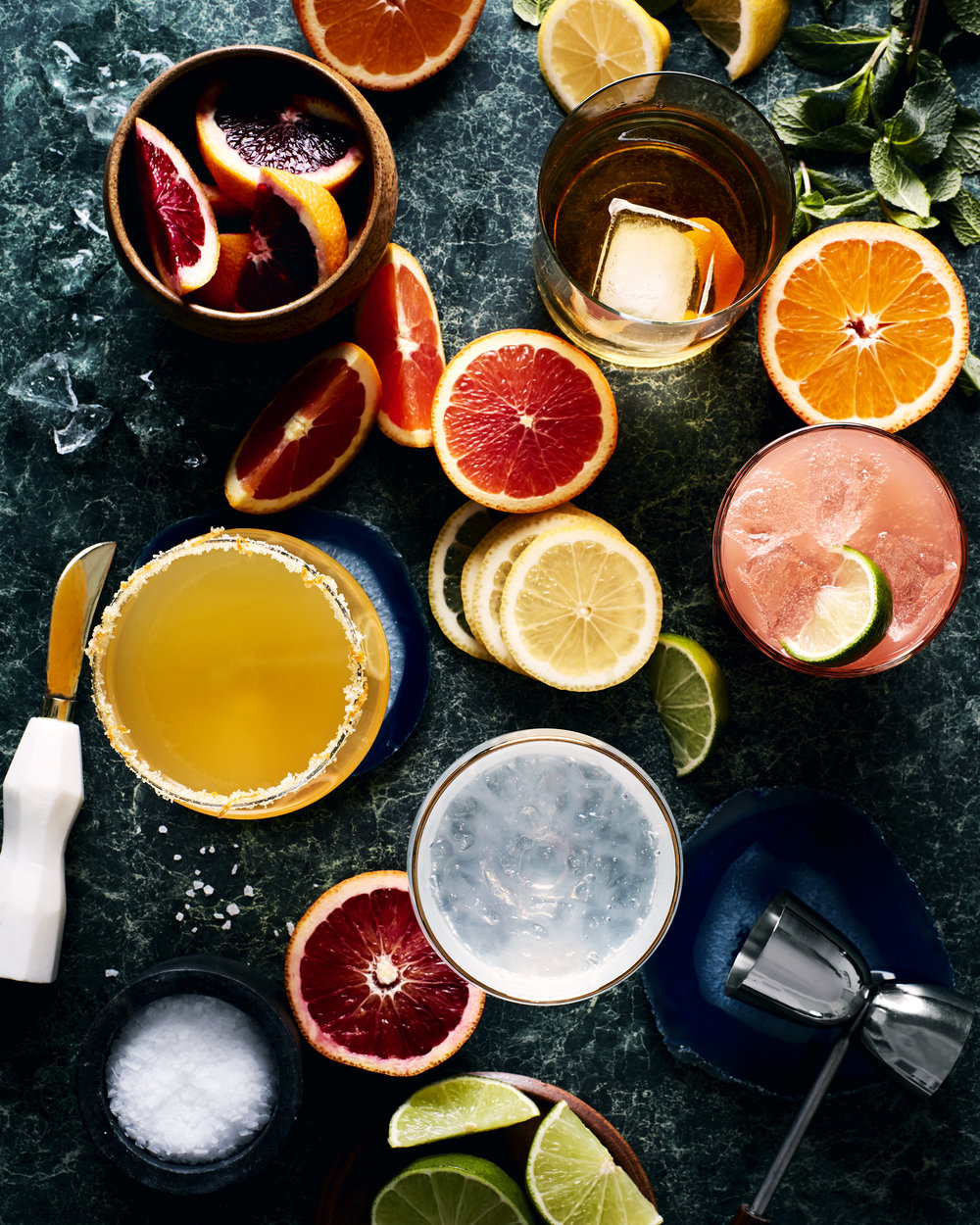 Citrus Cocktails Toronto Food photographer
