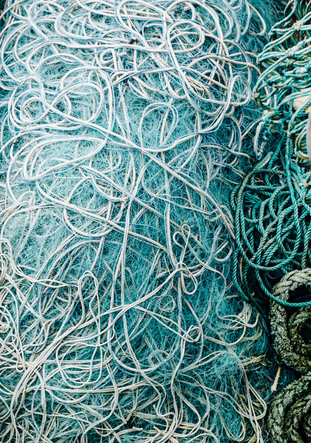 Fishing nets Roundstone Ireland Toronto Travel Photographers - Suech and Beck