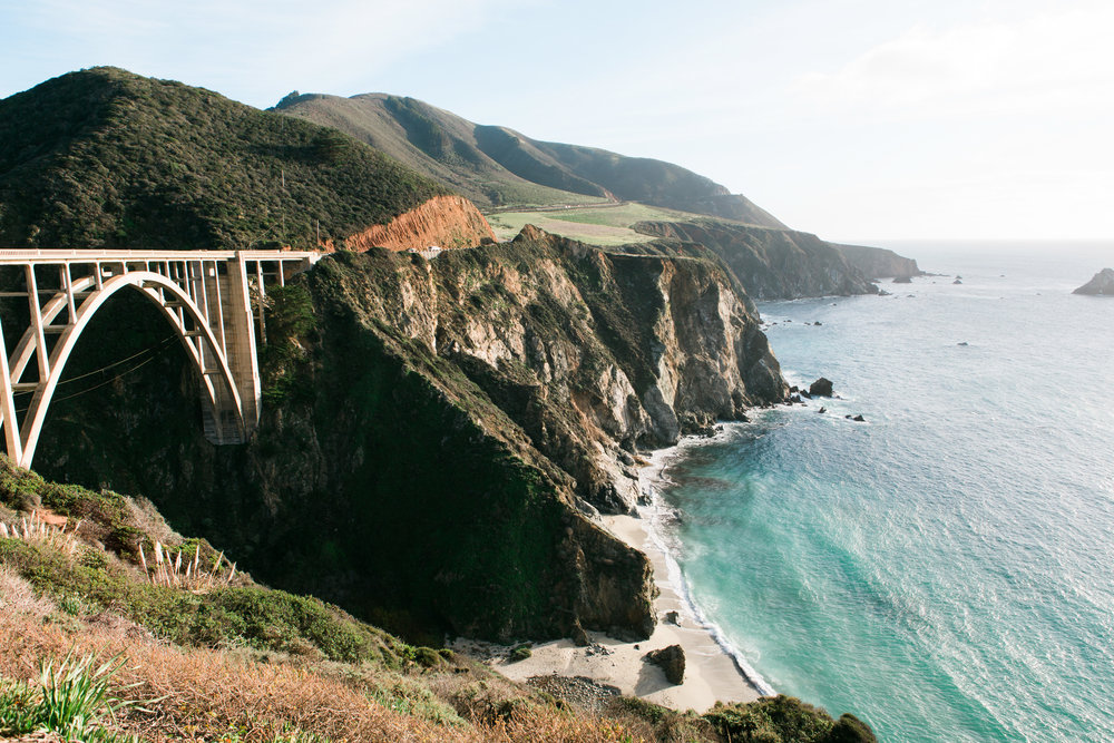 Bixby Creek Bridge Big Sur California Hwy1 Toronto Travel Photographers - Suech and Beck