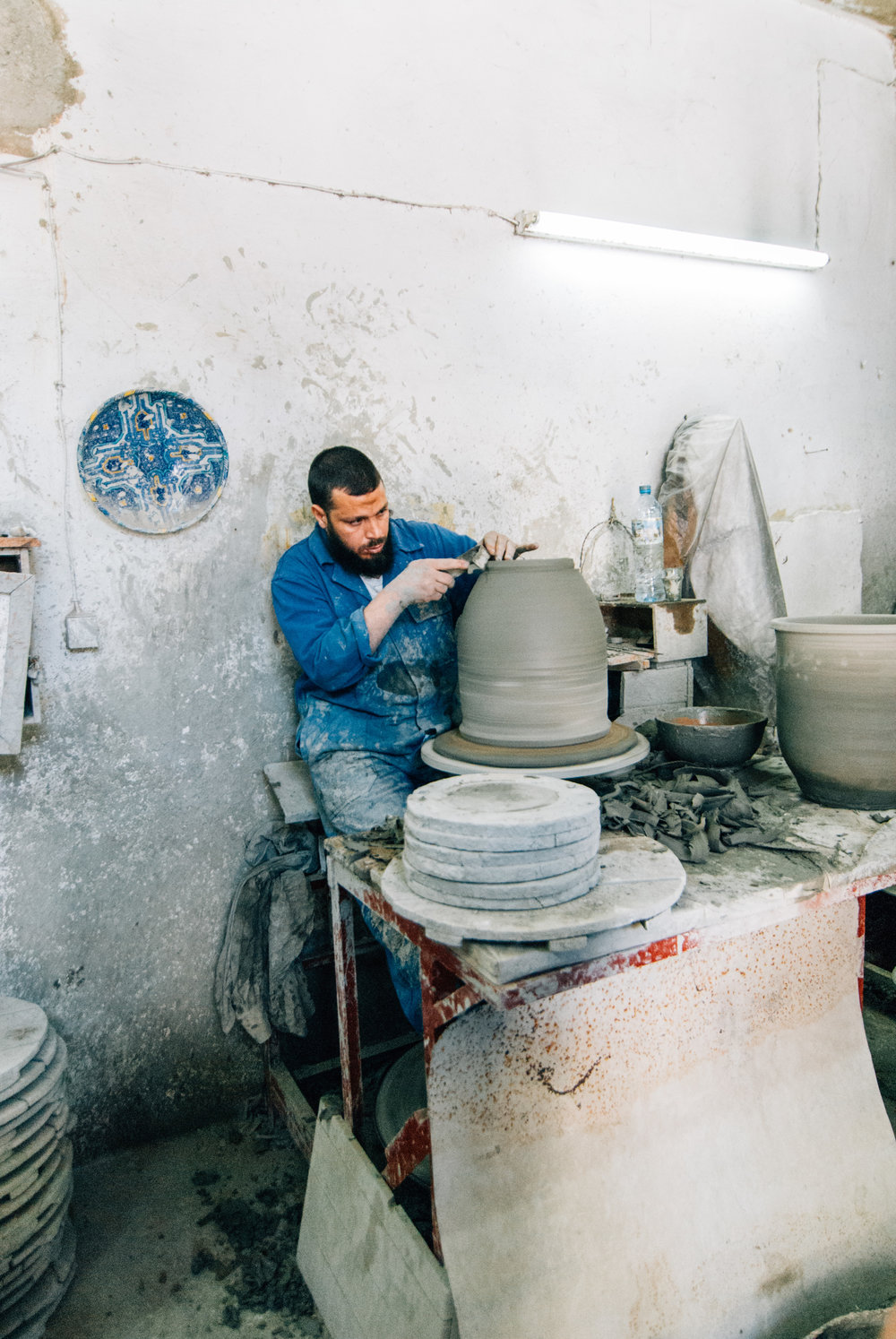 Moroccan ceramic artist handmade Toronto Travel Photographers - Suech and Beck