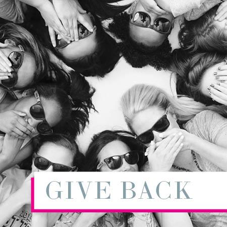Amy Joyce Designs Give Back