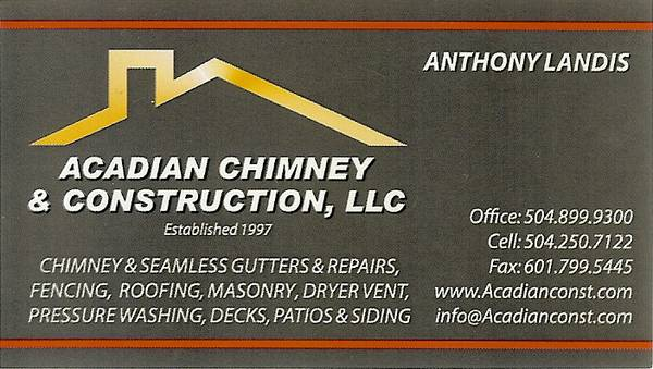 Acadian Chimney and Construction, LLC