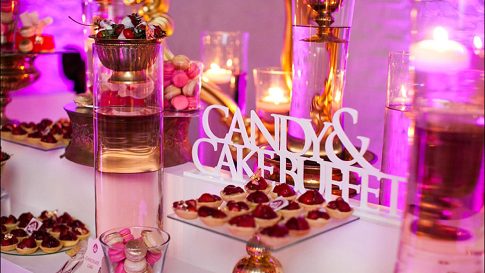 Cake and Candy Buffet