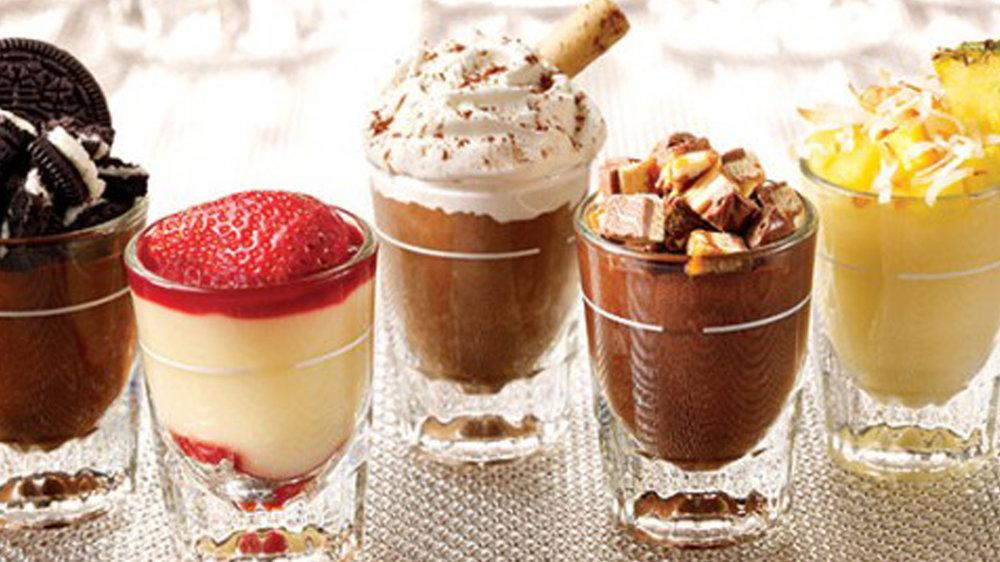 Mini Dessert Shots