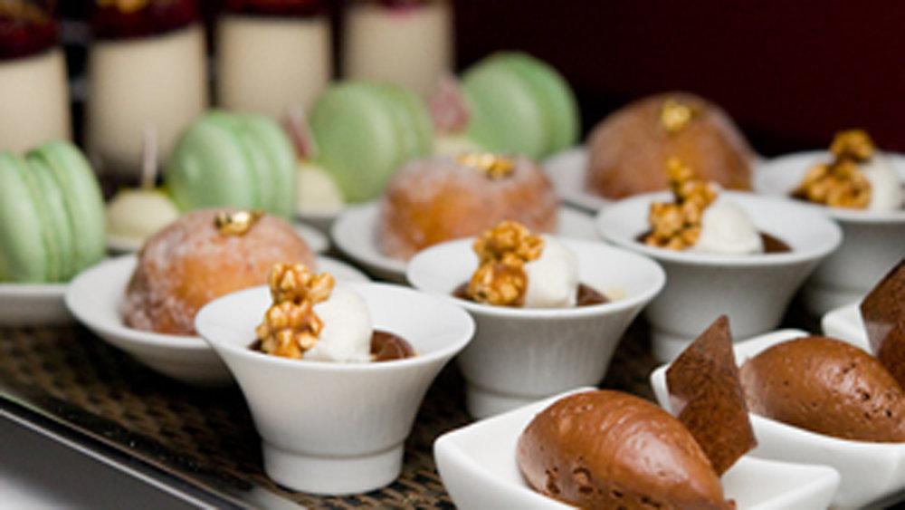 Parisienne Mini Desserts