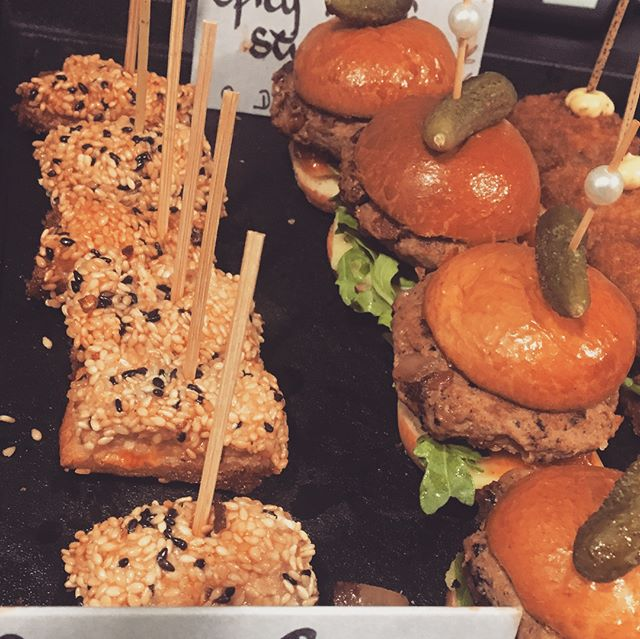 Corporate canapés #cilantrocatering #chef #cheflife #events #corporatehospitality
