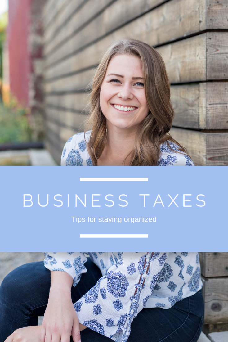 Business Taxes - Tips for staying organized