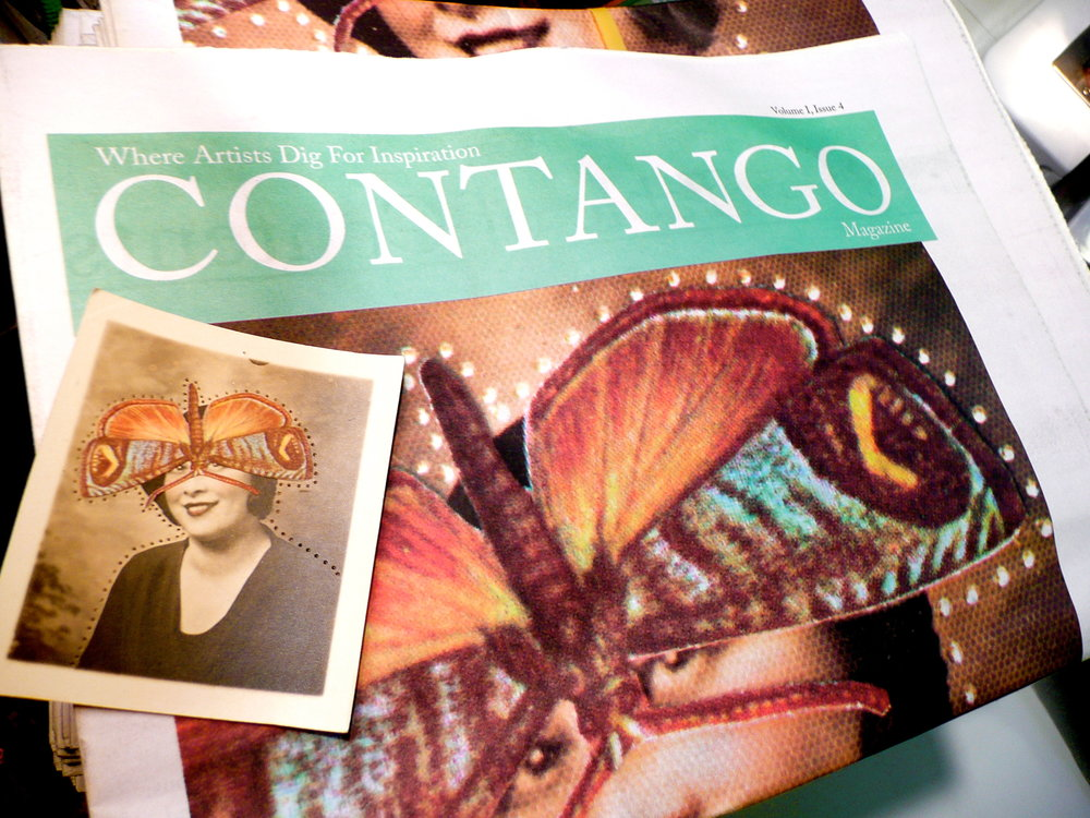 "I was co-producer and a contributor to ""Contango"", a Denver, CO, magazine dedicated to getting writers together for a stab at their best off-beat works of fiction, poetry, essays, philosophy, populist rants or unpopular rants. Print is cool. Expensive too, but we were really happy with the issues we produced."