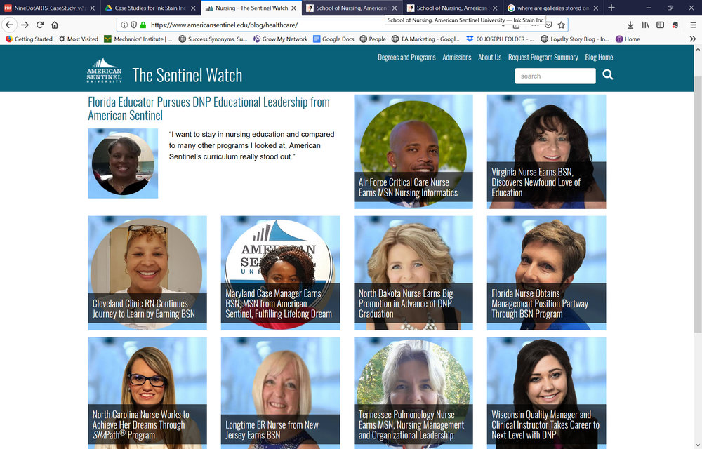 Nationally Recognized Content Hosted on the Robert Wood Johnson Foundation Website - 34% increased readership and 7% increases revenue in 4 months