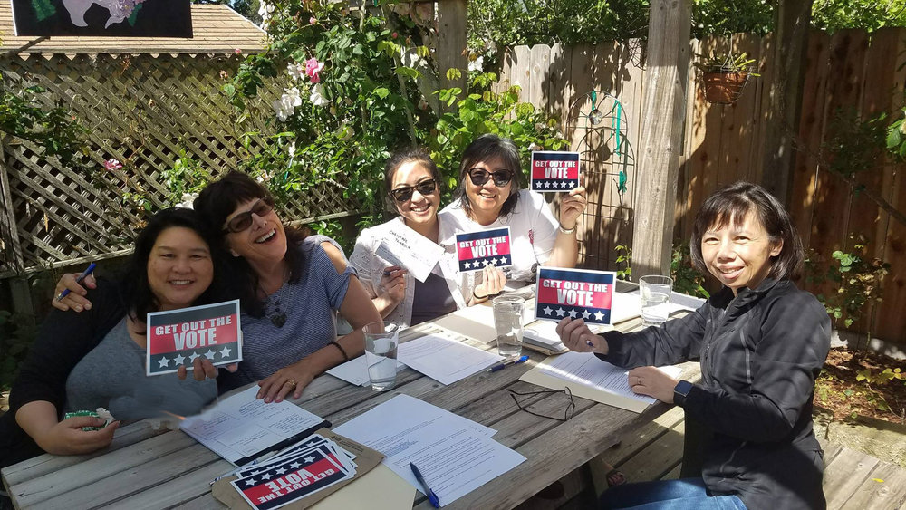Postcards in California