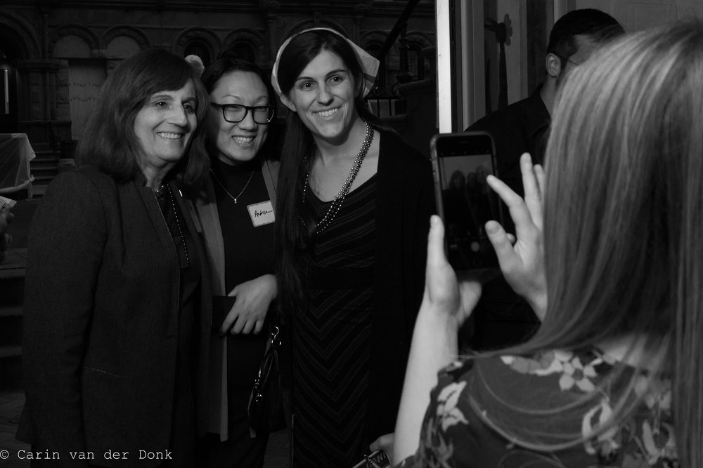 Sister District NYC teams host Danica for a fundraiser in the Big Apple. Credit: Carin van der Donk