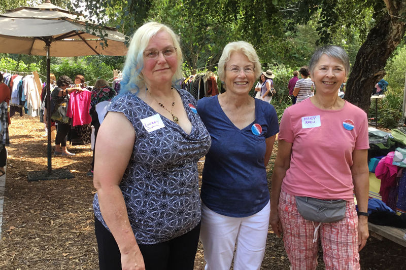 Sonoma Volunteers hold a clothing swap fundraiser