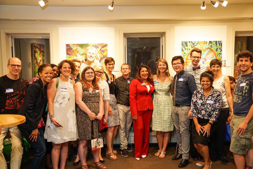 Washington, DC team with Elizabeth Guzman