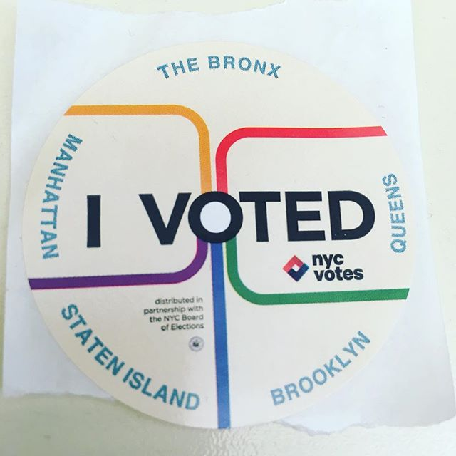 A huge thank you to our volunteers, district captains, and steering committee for their tireless work during this election cycle. While we can't vote for the candidates we supported this time around, make sure to vote here in NYC! Crossing fingers for a #bluewave today, and especially for @lizforpa and @votetinadavis! . . . #sisterdistrict #bluewave2018 #statesmatter #itstartswithstates #turnpablue #nycvotes #govote