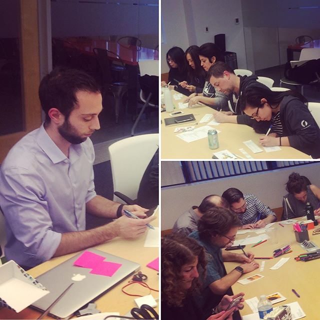 After @austindoessf introduced the #SoMa #MissionBay hub to Pam Iovino, our 1st 2019 candidate running for Pennsylvania's state Senate, it was time to write postcards to encourage voters in Louisiana #volunteers #itstartswithstates #electionsmatter