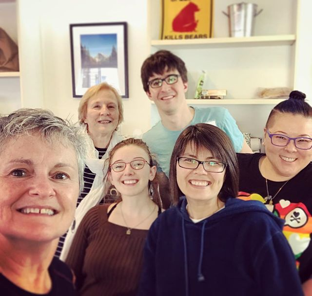 Small but mighty #volunteer crew who made 400+ calls at today's #Dogpatch #Phonebank to #gotv for #pennsylvania state Senate special election and Pam Iovino #electionsmatter #itstartswithstates