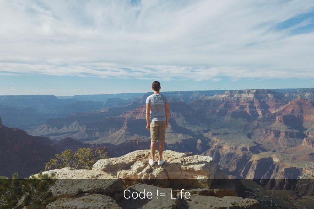Code != Life
