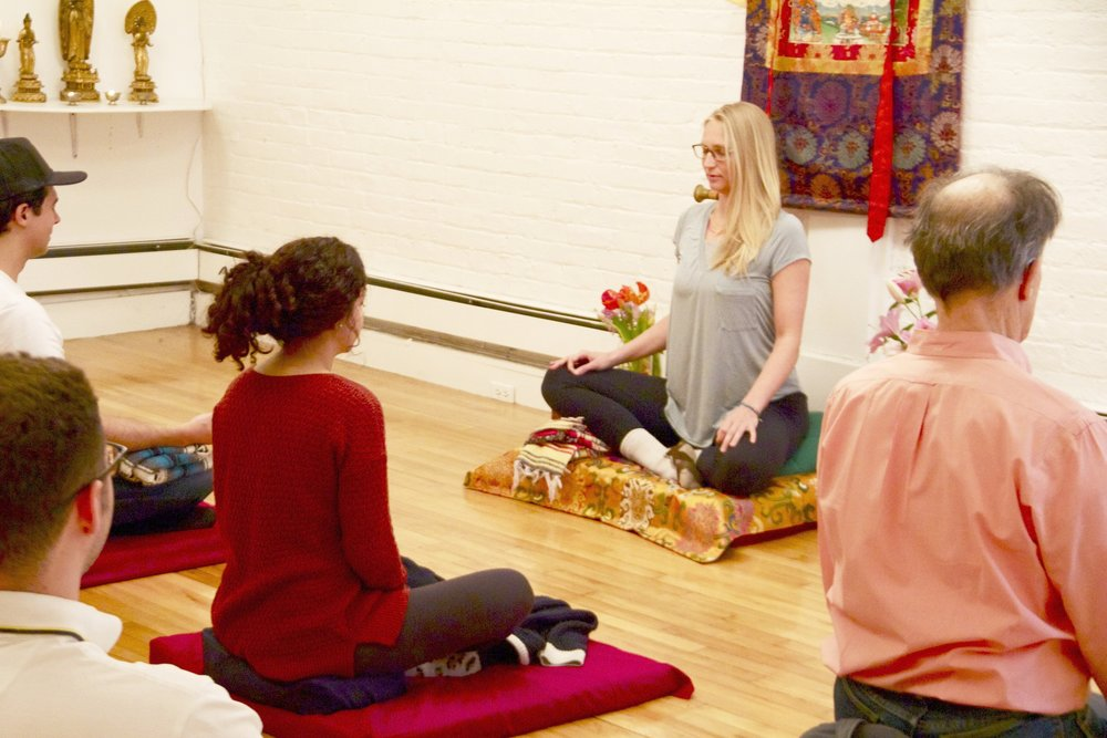 We offer free comprehensive training in yoga, meditation, and eastern philosophy.  -