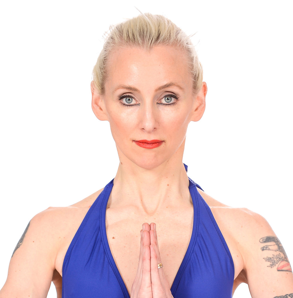 Yoga portraits at JR Studio on March 4, 2016 in NYC. (Photo by Ray Tamarra)
