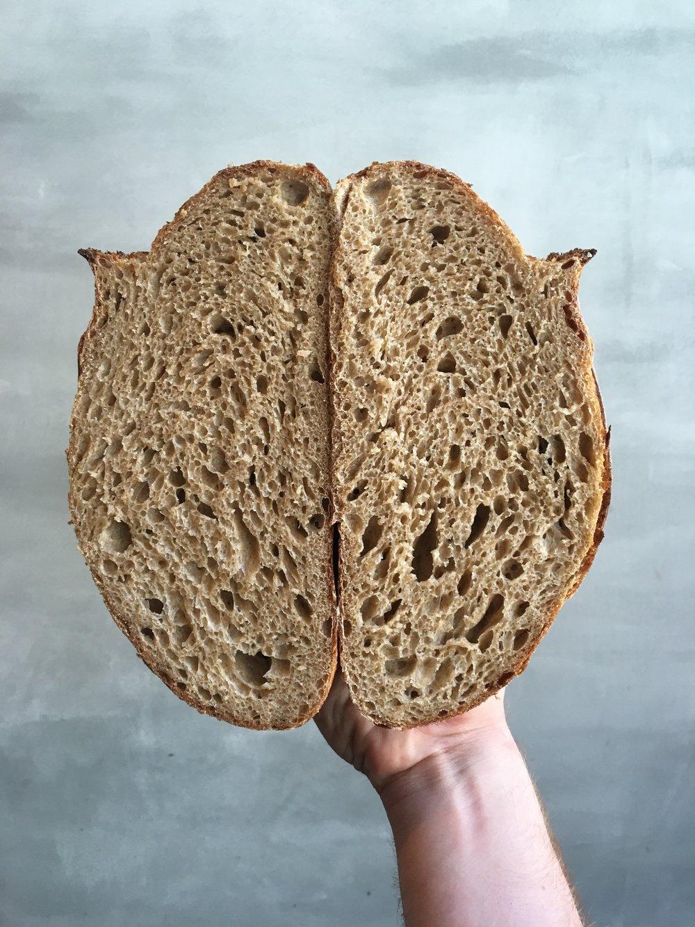 Kernza bread