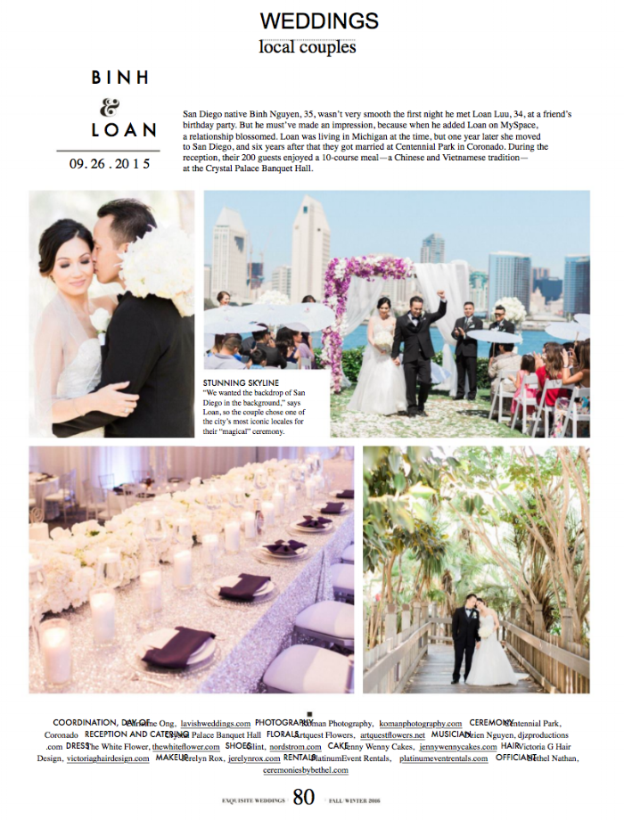 EXQUISITE WEDDINGS MAGAZINE 2016