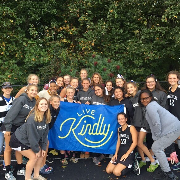 @napfock promoting Kindness.  Thanks for all your support.  #spreadkindness #annapolis #fieldhockey https://www.livekindly.com