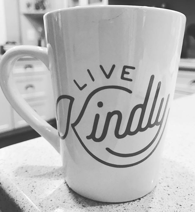 Good morning! Have a cup of kindness to start your day.  #coffee #yum #energy #kindness #bekind #kindon
