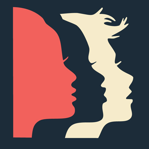 Update your Facebook and Twitter profile images to the Women's March Bay Area silhouette and link to our  website