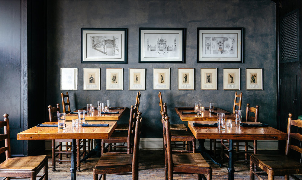 Sylvain - This dimly-lit French Quarter restaurant is moody and dark in all the right ways. The food is rich but refined, and the atmosphere perfectly captures what you'd hope a romantic dinner in a small carriage house would be. This is my go-to recommendation for friends visiting the city as well.