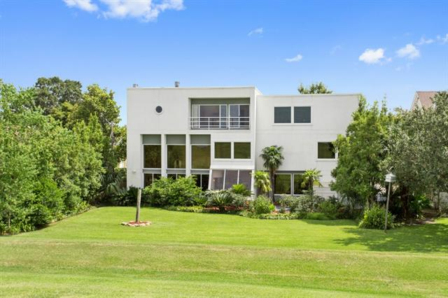 4809 Neyrey St. - Located in Metairie along Lake Pontchartrain, this grand contemporary definitely takes advantage of its amazing Lake views. A serious bargain if you're willing to look outside of New Orleans proper.