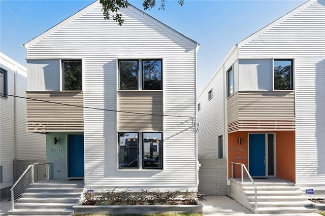 2527 Bienville St. - I am in LOVE with these modern builds along Bienville. They have truly thought of everything here. The layouts are perfect and the finishes are spot on. They're well-designed and well-built, just a block from the Canal Streetcar and a stone's throw to the bayou.