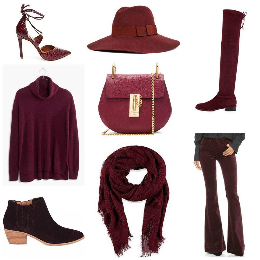 burgundycollage