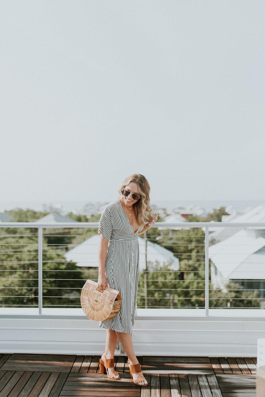 Blogger Gracefully Taylored in Faithful the Brand Stripe Dress(13).jpg