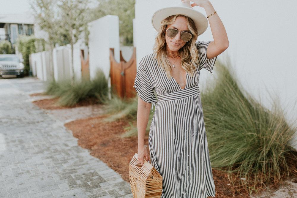 Blogger Gracefully Taylored in Faithful the Brand Stripe Dress(30).jpg