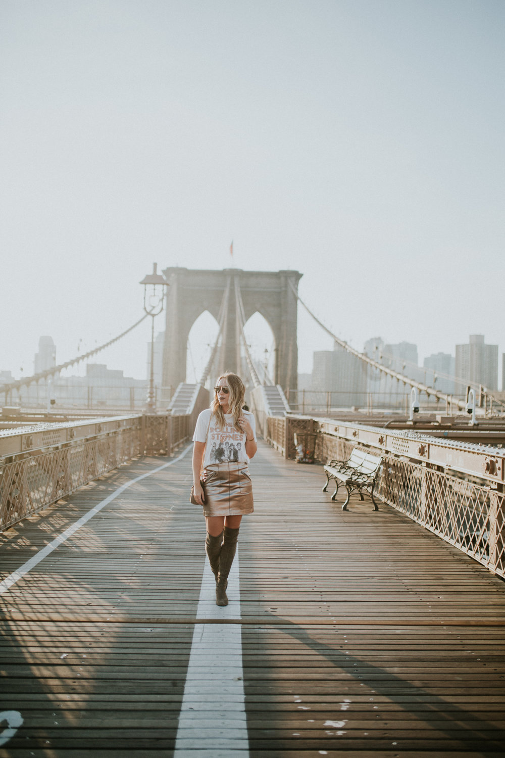 Blogger Gracefully Taylored in DayDreamer Tee, BlankNYC Skirt and Stuart Weitzman Boots(2).jpg