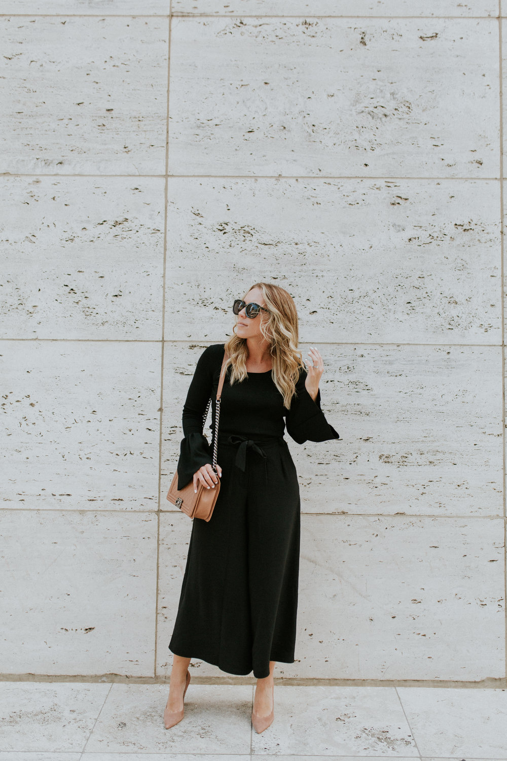 Blogger Gracefully Taylored in Nordstrom Culotte and Bell Sleeve Sweater(5).jpg