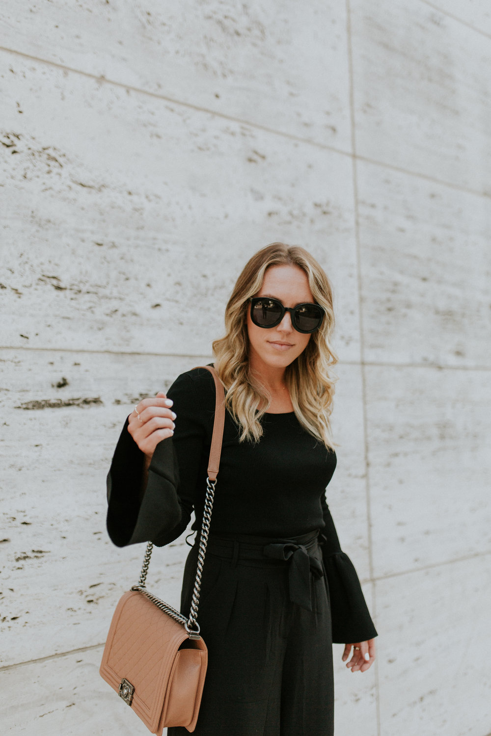 Blogger Gracefully Taylored in Nordstrom Culotte and Bell Sleeve Sweater(7).jpg