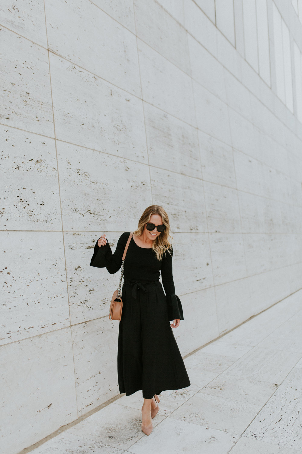 Blogger Gracefully Taylored in Nordstrom Culotte and Bell Sleeve Sweater(9).jpg